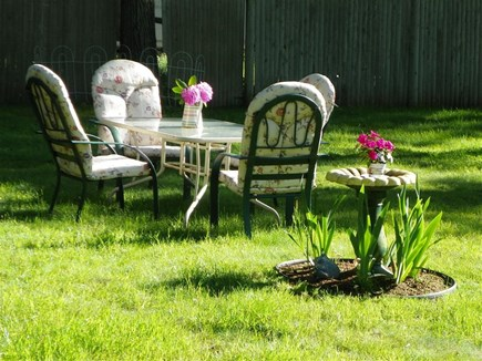 Eastham Cape Cod vacation rental - Outside dining or relaxing,with family,and friends