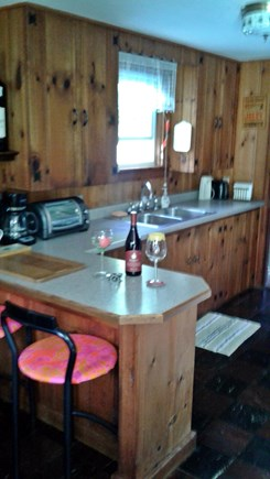 Eastham Cape Cod vacation rental - Kitchen area,small island,for your cooking pleasure