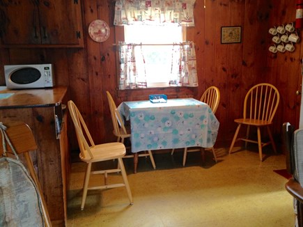 Eastham Cape Cod vacation rental - Dining area; seats 4-6