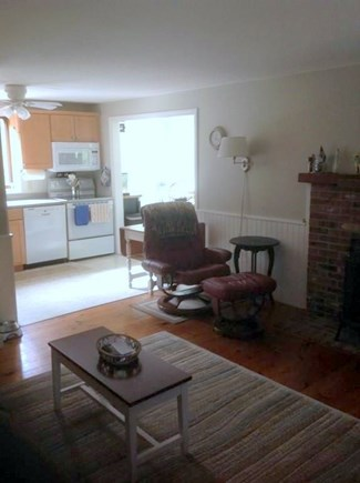 Eastham Cape Cod vacation rental - Living Room to Kitchen - 35 Fox Lane - Eastham