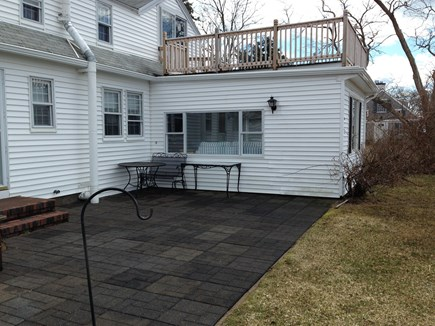 Hyannis Cape Cod vacation rental - Relax on the back patio