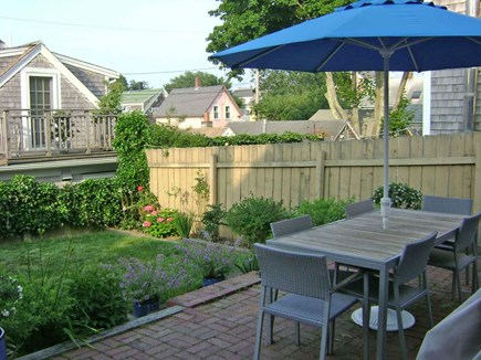 Provincetown Cape Cod vacation rental - Patio and Yard