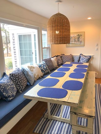 North Chatham Cape Cod vacation rental - Casual Dining for the Whole Gang!