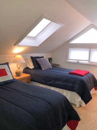 North Chatham Cape Cod vacation rental - Spacious Upstairs Bedroom for Kids and it even has a water view!