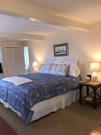 North Chatham Cape Cod vacation rental - En-suite Master, with King and water views