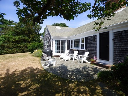 North Chatham Cape Cod vacation rental - Patio Facing the Water!