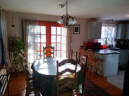 West Harwich Cape Cod vacation rental - Spacious Sunlit Dining Area