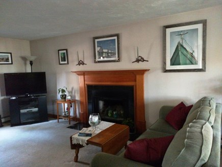 West Harwich Cape Cod vacation rental - Comfortable living room