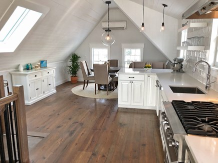Provincetown Cape Cod vacation rental - Open Living Area with Dining and kitchen