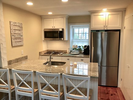 New Seabury, Maushop Village  New Seabury vacation rental - The kitchen was designed to maximize space & is fully functional.