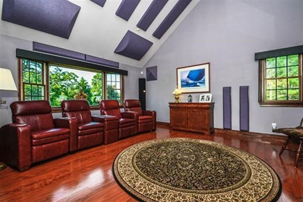 South Yarmouth Cape Cod vacation rental - Theater / Surround Sound Room