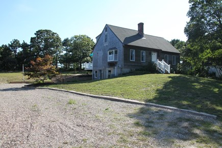 Eastham Cape Cod vacation rental - Front of house with large parking area