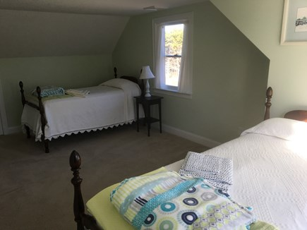 Eastham Cape Cod vacation rental - Upstairs bedroom with two twin beds