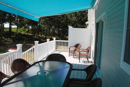 Eastham Cape Cod vacation rental - Deck with outside shower