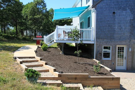 Eastham Cape Cod vacation rental - Walkway to deck