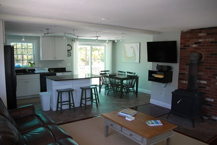 Eastham Cape Cod vacation rental - Open concept