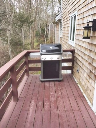 Orleans Cape Cod vacation rental - Brand new grill on deck that wraps around side of the house