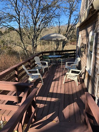 Orleans Cape Cod vacation rental - Large outdoor deck with plenty of sunshine