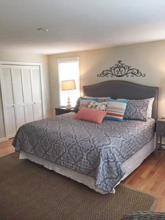 Orleans Cape Cod vacation rental - King size master bedroom on the 1st floor;
