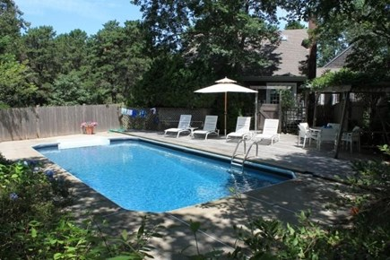Truro Cape Cod vacation rental - Very private and relaxing pool area