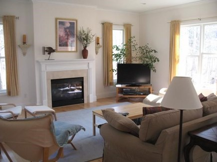 Truro Cape Cod vacation rental - Living Room