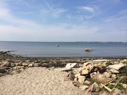 Fairhaven MA vacation rental - From the Deck at low tide