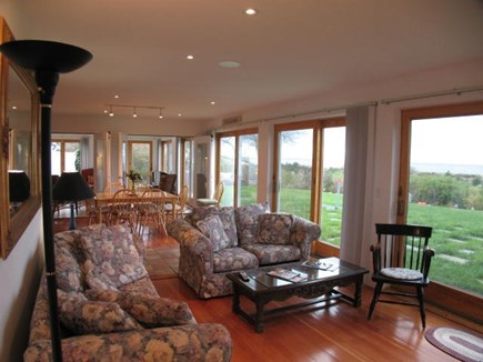 Brewster Cape Cod vacation rental - Light and airy first level living room