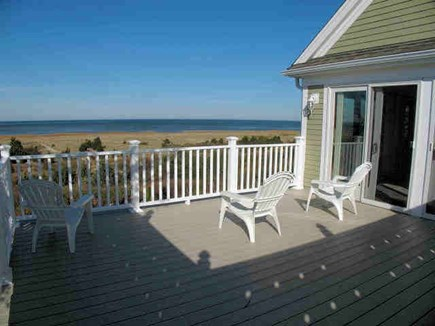 Brewster Cape Cod vacation rental - Second level deck with waterview