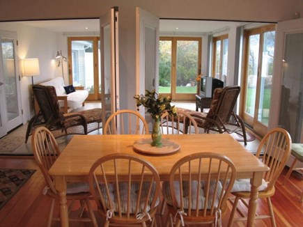 Brewster Cape Cod vacation rental - 2nd level dining area
