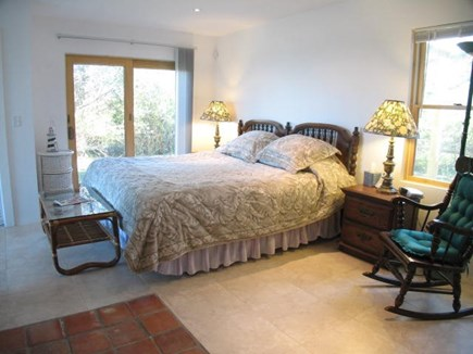 Brewster Cape Cod vacation rental - First level master bedroom