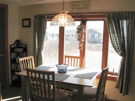 Dennis Port Cape Cod vacation rental - Dining Area with bay window