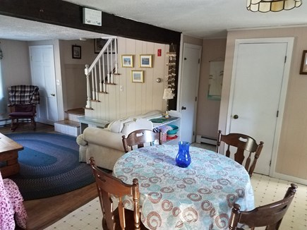 south yarmouth Cape Cod vacation rental - Open space LR, DR, Kitchen