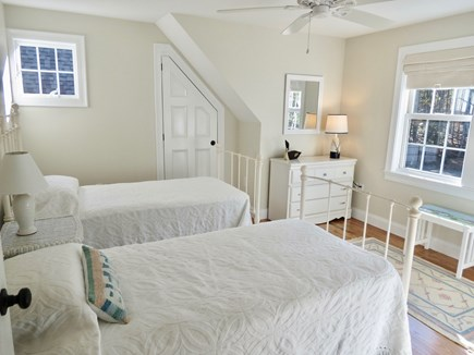 Brewster Cape Cod vacation rental - Upstairs room with two twins