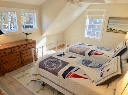 Brewster Cape Cod vacation rental - Second upstairs bedroom with two twins