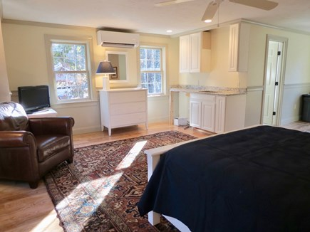 Brewster Cape Cod vacation rental - Master suite #3 with a queen plus a kitchenette and full bath