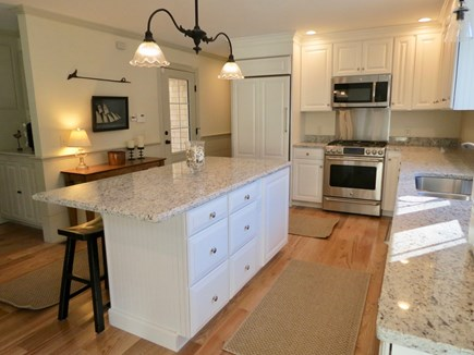Brewster Cape Cod vacation rental - Big, brand new kitchen with all new appliances and cabinets
