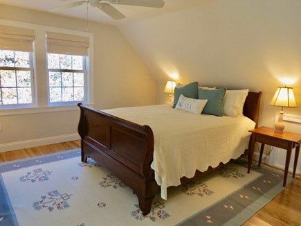 Brewster Cape Cod vacation rental - Master suite #2 with a queen bed and full bath en suite