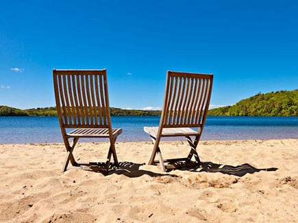Brewster Cape Cod vacation rental - Private Sheep Pond Beach