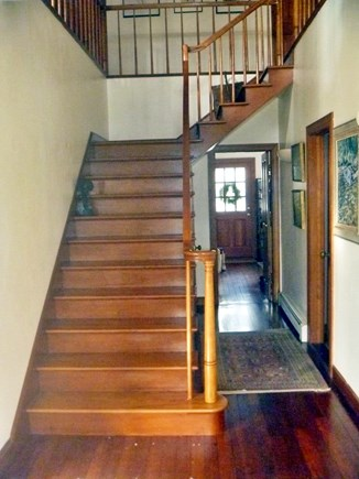 Woods Hole, Nobska Point Woods Hole vacation rental - Front Stairs