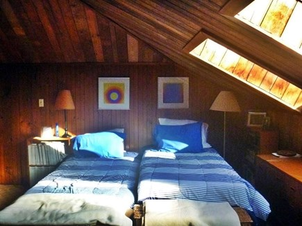 Woods Hole, Nobska Point Cape Cod vacation rental - Attic Bedroom with best view in the house
