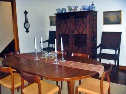 Woods Hole, Nobska Point Cape Cod vacation rental - Dining Room