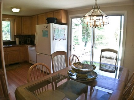 Brewster Cape Cod vacation rental - Dining / kitchen area