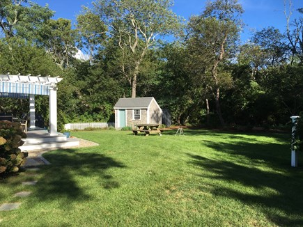 Orleans Cape Cod vacation rental - Spacious Yard