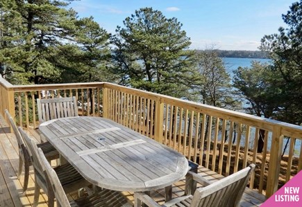 Harwich Cape Cod vacation rental - Enjoy panoramic, elevated views of the Cape's largest fresh water
