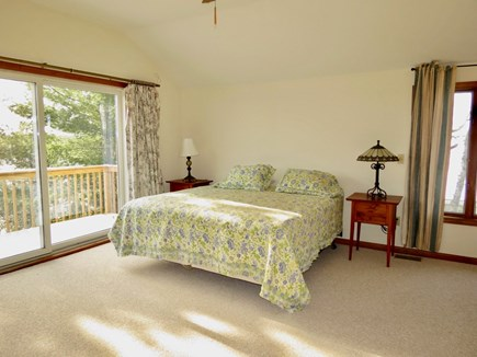 Harwich Cape Cod vacation rental - Master suite, 2nd level with king size bed, full bath en suite