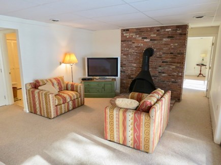 Harwich Cape Cod vacation rental - On the lower level, kids will enjoy their own TV lounge.