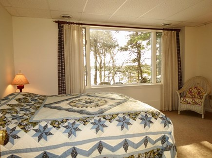 Harwich Cape Cod vacation rental - Lower level queen BR. Other BRhere has twins (not shown)