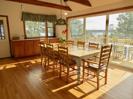 Harwich Cape Cod vacation rental - Dine inside or outside, either way with a stunning water view