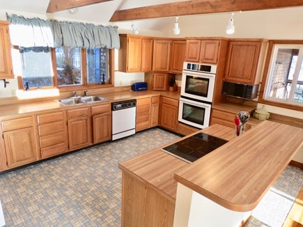 Harwich Cape Cod vacation rental - Open, social kitchen opens to dining area.Water views from both.