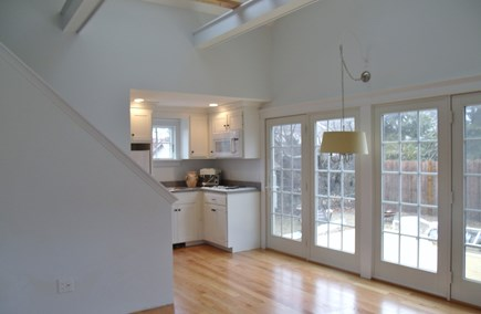 South Yarmouth Cape Cod vacation rental - Separate living area with kitchenette, loft bedroom & living room